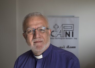 Emanuel Youkhana leder den kirkelige hjelpeorganisasjonen Capni som bidrar i gjenoppbygging i Nord-Irak.