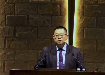 Pastor Wang Yoi i Early Rain-kirken i Chengdu er fengslet i ni år for sin tros skyld.