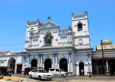 St. Anthony-kyrkja i Colombo - før ho vart ramma av terror påskedag.