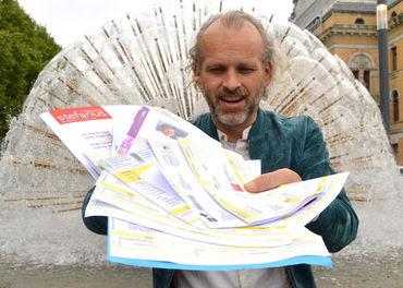GIRO: Det tradisjonelle brevet med giroblankett får gaver fra faste givere til å strømme inn, observerer Gisle Skeie i Stefanusalliansen.