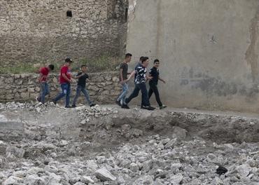 Unge kristne i Irak: Barn i ein landsby på Ninive-sletta drøymer om ei trygg framtid.