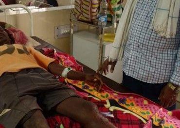 Et av ofrene for angrepet på tre kristne familier i Salepal.