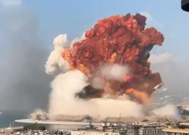 To eksplosjoner la Beirut sentrum i «apokalyptisk ruin», sier Stefanusalliansens partner Merath.