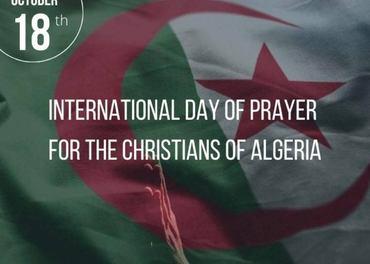 Protestantiske kristne i Algerie invitert 18. oktober 2020 til bønnedag.