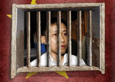 Nguyen Bac Truyen må settes fri i Vietnam, krever trosfrihetsorganisasjon. Foto: AFP. Illustrasjon: Morten Ravnbø Sætren