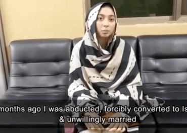 Maira Shabaz (14) ber i en videohilsen om hjelp til å komme i sikkerhuet.