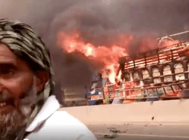 Frifinnelsen av blasfemidømte Asia Bibi utløste opptøyer i pakistanske byer.