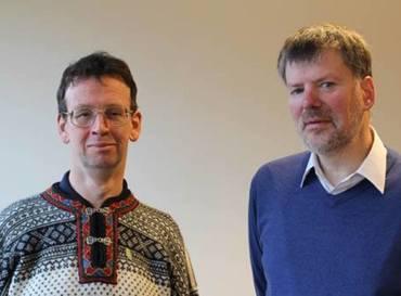 John Kinahan og Felix Corley driver Forum 18 Newsservice.