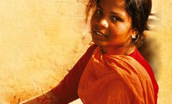 Asia Bibi satt dødsdømt for blasfemi fra 2010 til hun ble frikjent av Supreme Court i 2018, bekreftet i 2019.