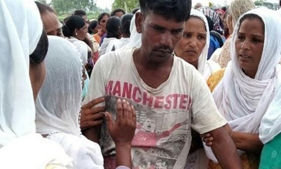 Den drepte jentas far. Foto: World Watch Monitor
