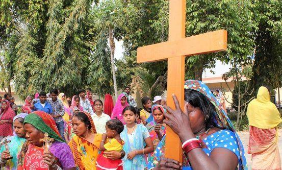 Kristne i Uttar Pradesh i fastetiden, 2015