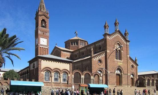 Sankt Josephs-katedralen i Asmara. Foto: Wikimedia