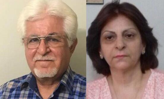 Victor Bet Tamraz og Shamiram Issavi Khabizeh. Foto: Middle East Concern
