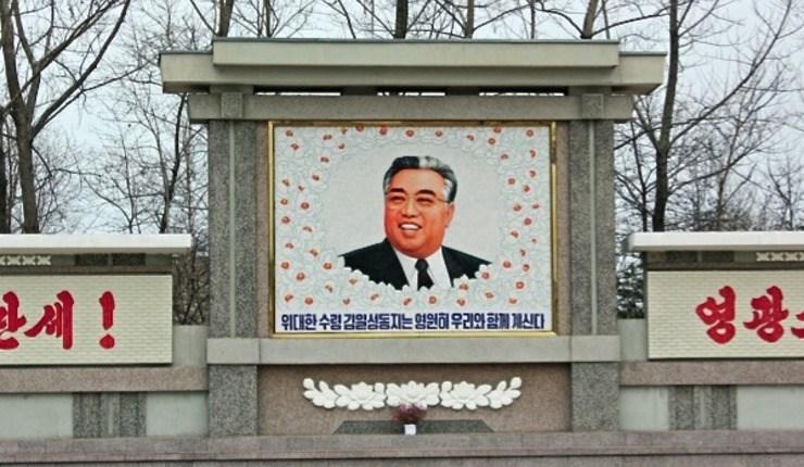 Foto: Nord-Koreas grunnlegger Kim Il Sung