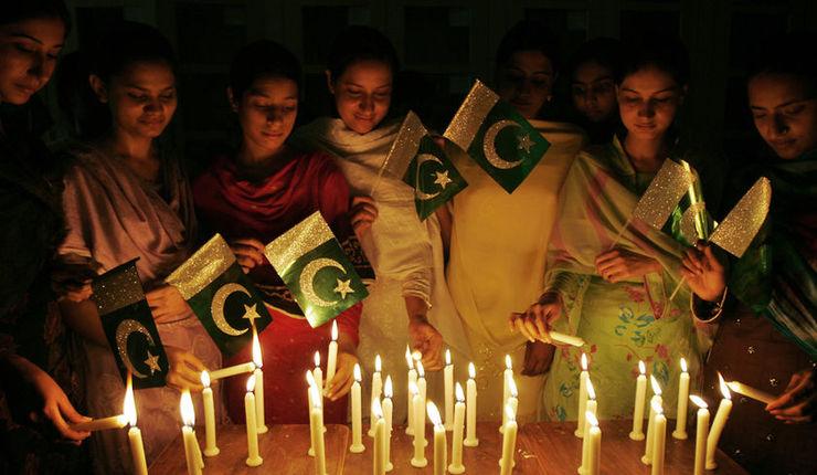 Pakistansk nasjonaldagsfeiring. Foto: Wikimedia