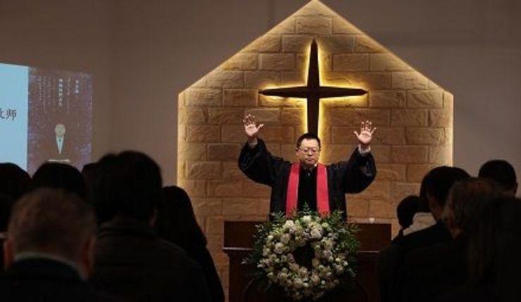 Pastor Wang Yi. Foto: Christian Solidarity Worldwide