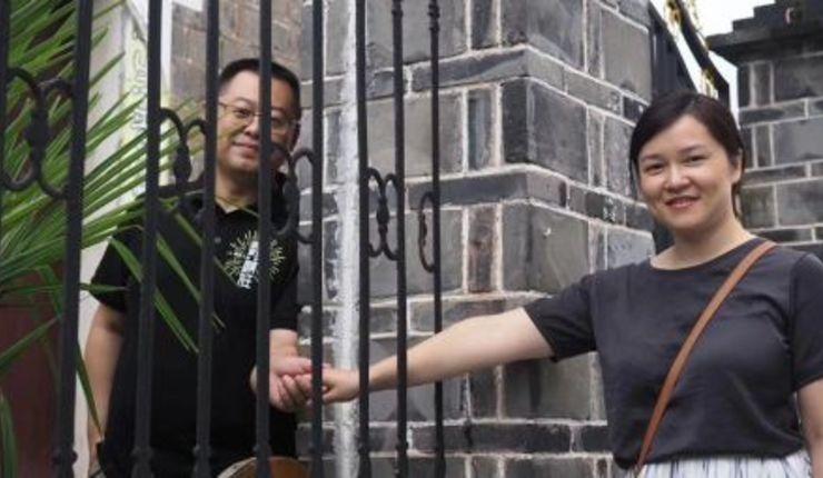 Pastorparet Wang Yi og Jiang Rong. Foto: Facebook