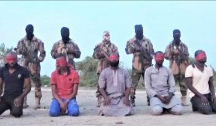 Skjermdump fra henrettelsesvideo. Morning Star News