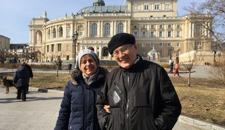 Tahir Talipov og hans kone Anja. Foto: Stefanusalliansen