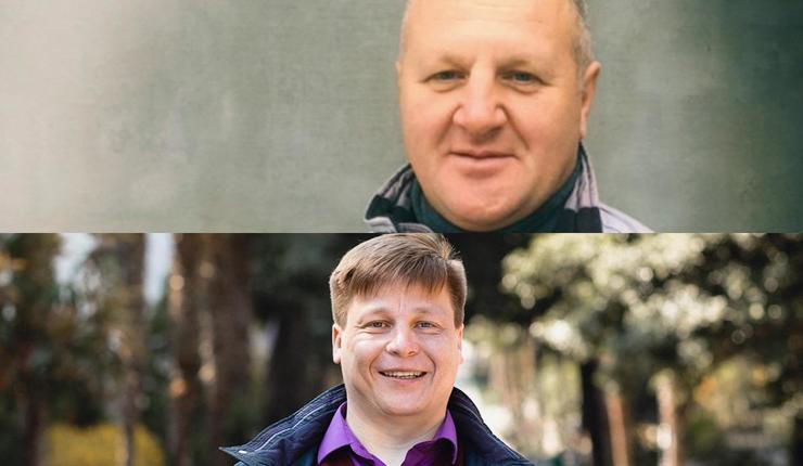 Sergei Filatov (over) og Artyom Gerasimov. Foto: Jehovah's Witnesses