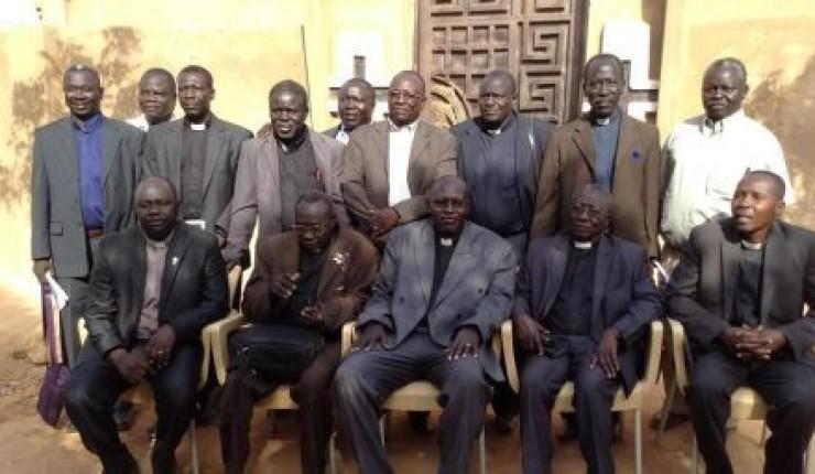 Ledelsen i Sudanese Church of Christ. Foto: CSW