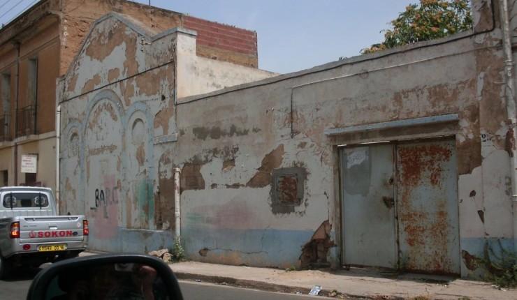 Kirkebygget som ble gitt tilbake. Foto: Middle East Concern