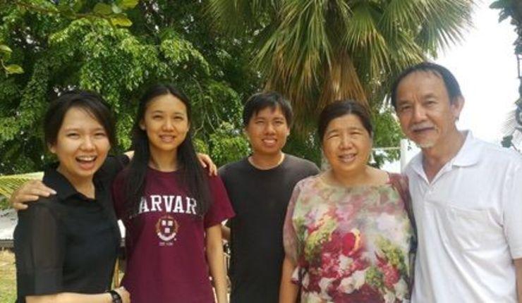 Foto: Familien Koh (kilde: CSW).