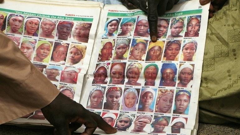 I 2014 kidnappet Boko Haram 276 jenter i Chibok, Nigeria.