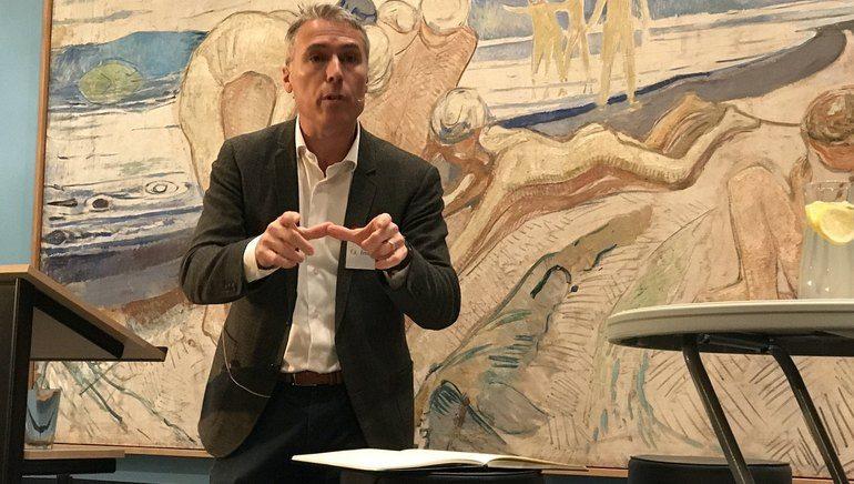 Ed Brown deltok selv på konferansen som Utenriksdepartementet inviterte til om trosfrihet 12. november 2018 og som har ført til ny debatt.